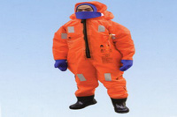immersion suit, oxford textile immersion suit