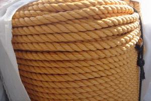 3 strand polyproplene rope