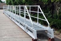 aluminium turning type accommodation ladder