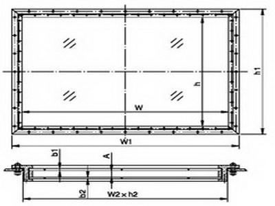 aluminum soundproof hollow window