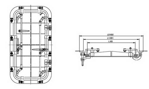 flush pressuretight watertight door  u2013 bosunmarine