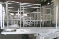aluminium outward expending accommodation ladder