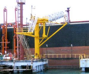 marine port gangway