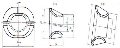 single point mooring pipe type B