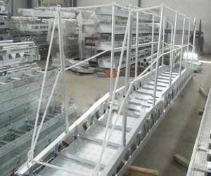 truss wharf ladder