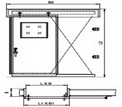 wheelhouse sliding door