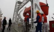 Lifeboat Davit Testing