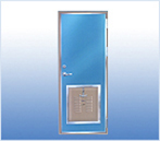 A60 fireproof door with escape hole