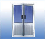 aluminum orament door