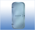 quick opening&closing steel watertight door