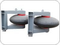roller type rubber fender