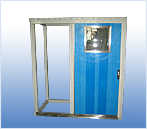 sliding door for wheel house