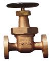 10K JISF 7368 marine flanged bronze gate valve