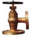 16K JISF 7410 marine bronze globe check angle valve