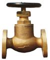 16K JISF7303 marine flanged bronze globe valve