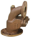 5K JISF 3060 marine bronze right angle storm valve