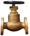 5K JISF 7301 marine bronze straight globe valve