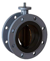 Marine Double Flange Type Butterfly Valve