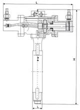 Marine Hydraulic Butterfly Valve.