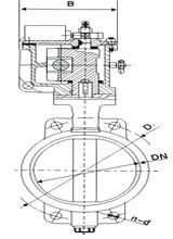 Marine Hydraulic Butterfly Valve