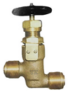 external screw thread bronze stop valve