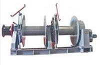 hydraulic single mooring winch(two drums)