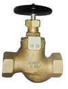 internal screw thread bronze stop valve