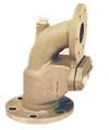 marine bronze angle storm valve