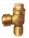 marine bronze external screwed check valve