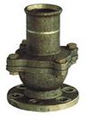 marine bronze flanged suction check valve