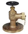 marine bronze hose angle valve
