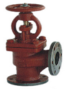 marine cast iron flanged stop valve