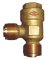 marine external screw thread bronze check valve