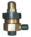 marine external thread bronze angle liquid safety valve