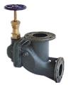 marine screw down vertical storm valve