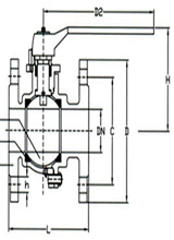 marine stainless steel ball valve