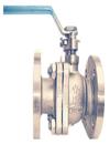 Q41F API marine bronze flanged ball valve