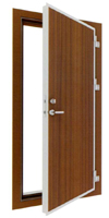 class A-60 single-leaf weathertight and gastight door
