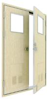 class B-15 double leaf fireproof door