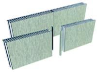 type C aluminum cellular panel