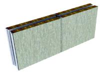 type A/C acoustic double panel