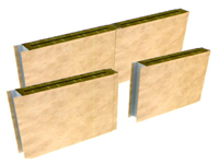 type A/C acoustic panel