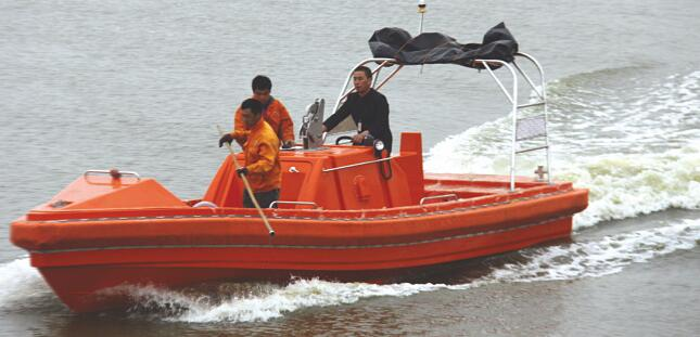 fast rescue boat, work boat