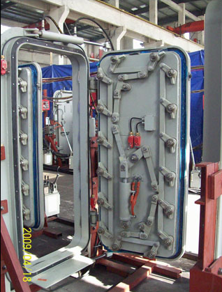 marine hydraulic sliding door