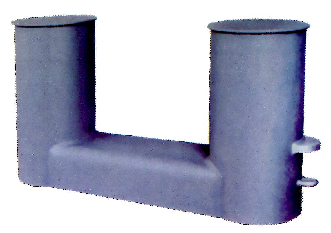 DIN standard bollard DIN 82607