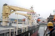 30T 18M Hydraulic deck crane
