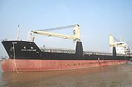40T 24m Hydraulic deck crane