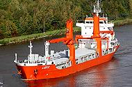 40T 25M Hydraulic Deck Crane