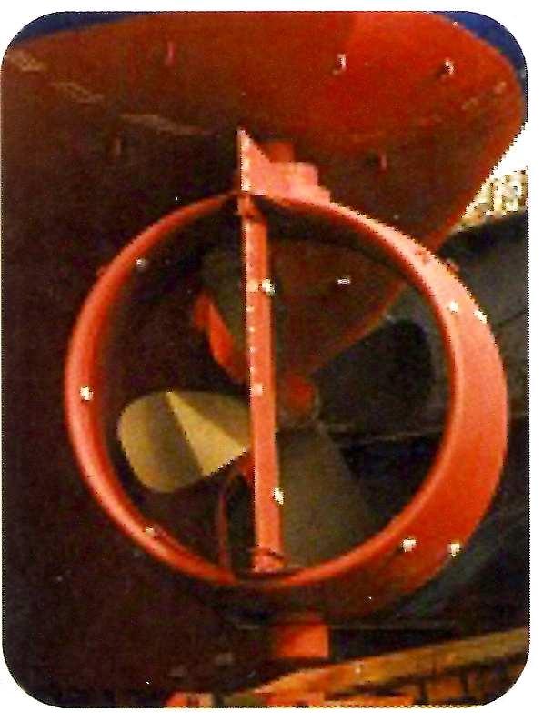tubular rudder