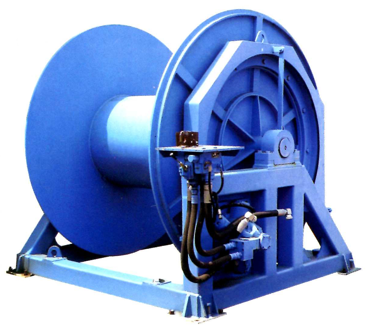 winch for engineering vessel-2